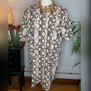 Missguided Dresses - Missguided Snake Skin Dress